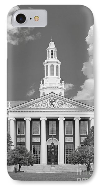 Baker Bloomberg At Harvard University IPhone Case by University Icons