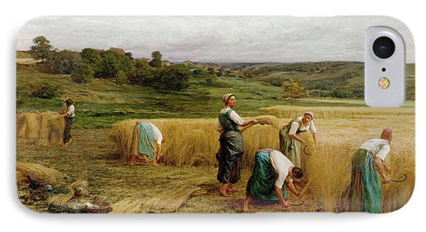 Harvest IPhone Case by Leon Augustin Lhermitte