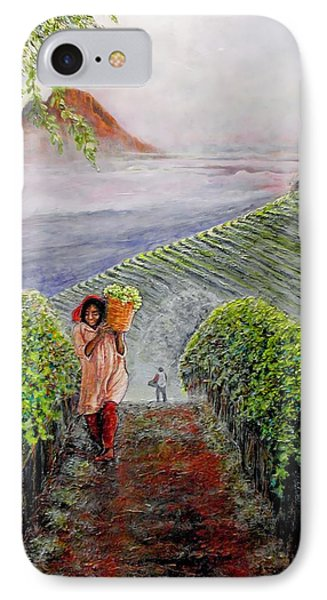 Harvest At Dawn Phone Case by Michael Durst