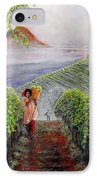 Harvest At Dawn IPhone Case by Michael Durst