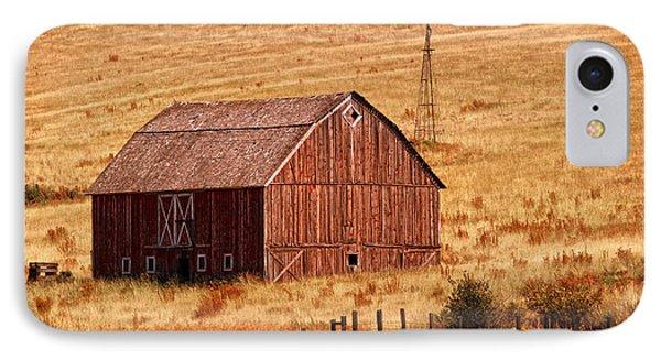 Harvest Barn Phone Case by Mary Jo Allen