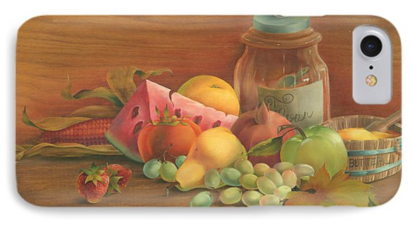 IPhone Case featuring the painting Harvest Fruit by Doreta Y Boyd