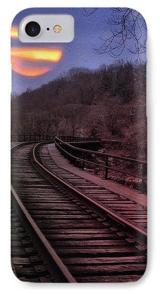 Harvest Moon Phone Case by Bill Cannon