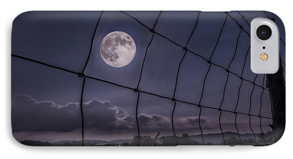 IPhone Case featuring the photograph Harvest Moon by Jaki Miller
