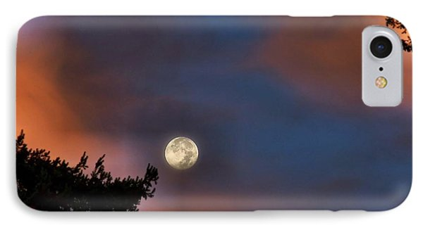 IPhone Case featuring the photograph Harvest Moon by Julia Hassett