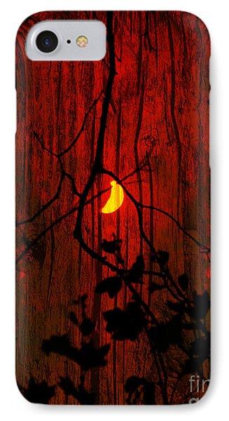 Harvest Moon IPhone Case by Robert Ball