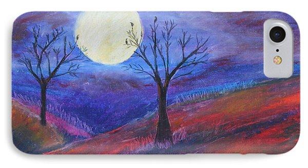 Harvest Moon 3 IPhone Case by Jeanne Fischer