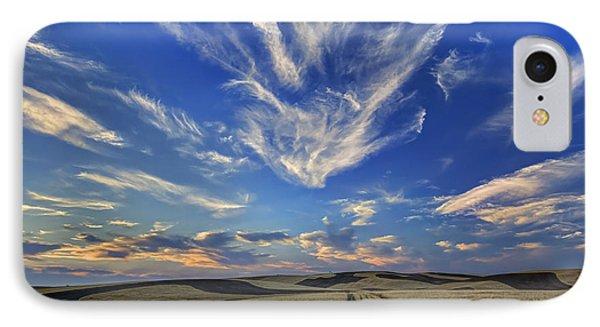 Harvest Sky IPhone Case by Mark Kiver