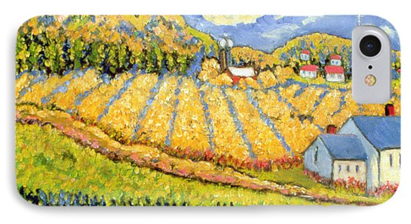 Harvest St Germain Quebec Phone Case by Patricia Eyre