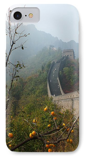 IPhone Case featuring the photograph Harvest Time At The Great Wall Of China by Lucinda Walter