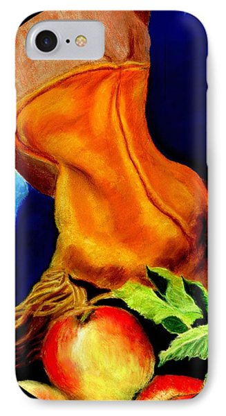 Harvest Time Pastel IPhone Case by Antonia Citrino
