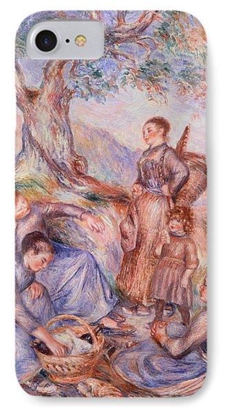 Harvesters Breakfast Phone Case by Pierre-Auguste Renoir