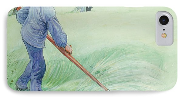 Harvesters Phone Case by Carl Larsson