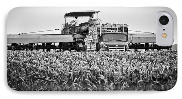 IPhone 7 Case featuring the photograph Harvesting Time by Ricky L Jones