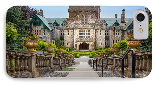 Hatley Castle IPhone Case by Inge Johnsson