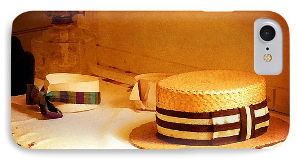 IPhone Case featuring the photograph Hats And Collars by Timothy Bulone
