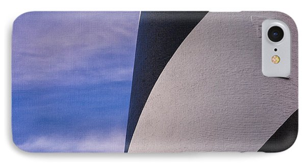 IPhone Case featuring the photograph Hatteras Detail In Canvas by Terry Rowe