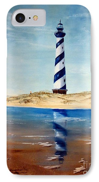 Hatteras Lighthouse Phone Case by Lee Piper