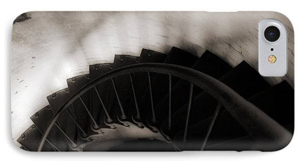 IPhone Case featuring the photograph Hatteras Staircase by Angela DeFrias