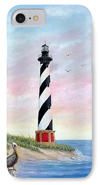 Hatteras Sunrise IPhone Case by Fran Brooks