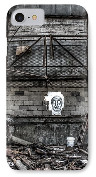 Haunted Graffiti  IPhone Case by Joshua Ball
