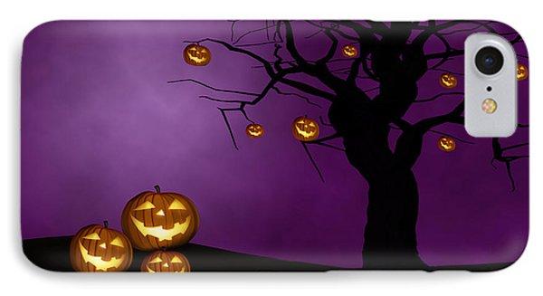 Haunted Halloween IPhone Case by Juli Scalzi