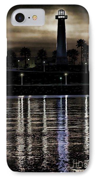 Haunted Lighthouse Phone Case by Mariola Bitner