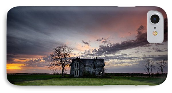 Haunted Sunset IPhone Case by Cale Best