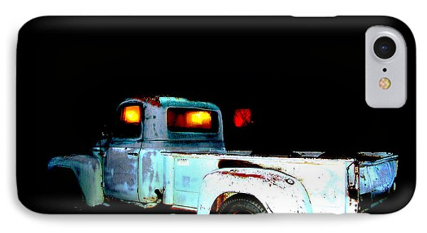 IPhone Case featuring the digital art Haunted Truck by Cathy Anderson