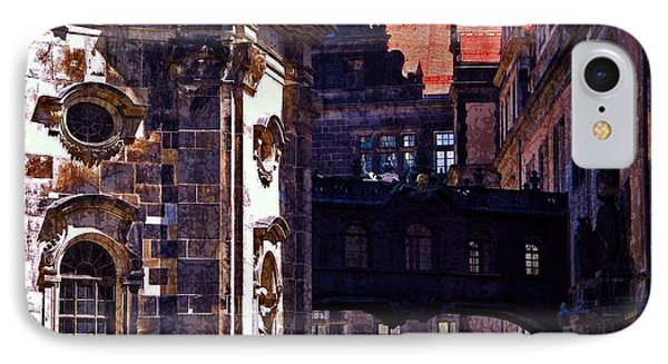 IPhone Case featuring the photograph Hausmann Tower In Dresden Germany by Jordan Blackstone