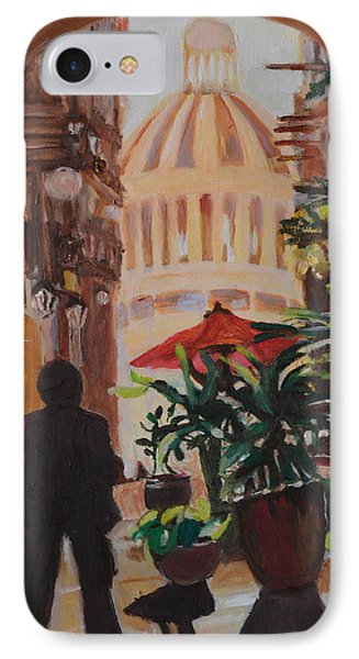 IPhone Case featuring the painting Havana by Julie Todd-Cundiff