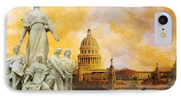 Havana National Capitol Building IPhone Case