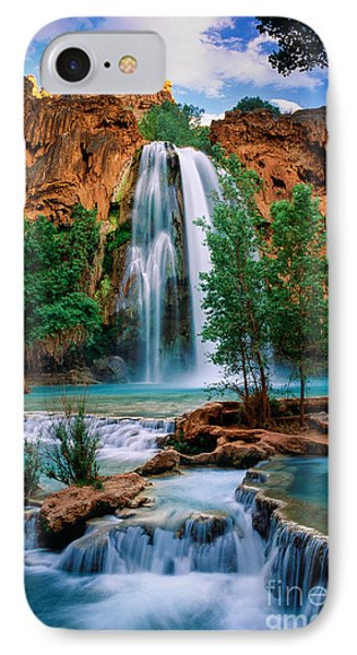 Havasu Cascades IPhone 7 Case by Inge Johnsson