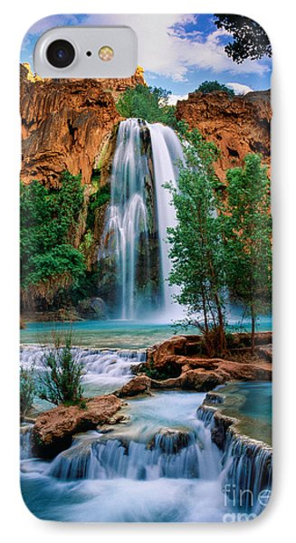 Havasu Cascades IPhone Case by Inge Johnsson