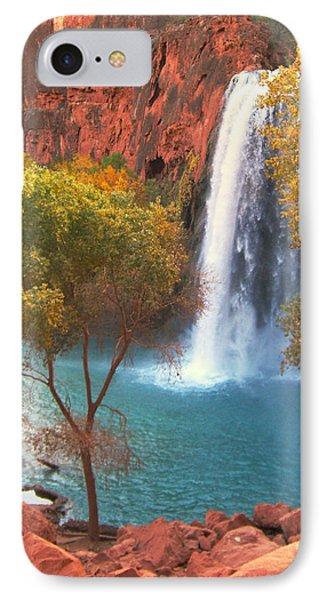 IPhone Case featuring the photograph Havasu Falls by Alan Socolik