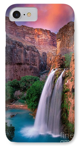 Havasu Falls IPhone Case by Inge Johnsson