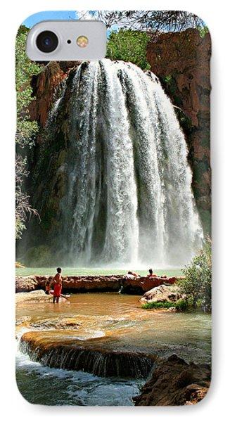 Havasu Falls IPhone Case by Stephen Stookey