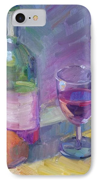 Have A Glass IPhone Case by Eva Tanner-Klaas