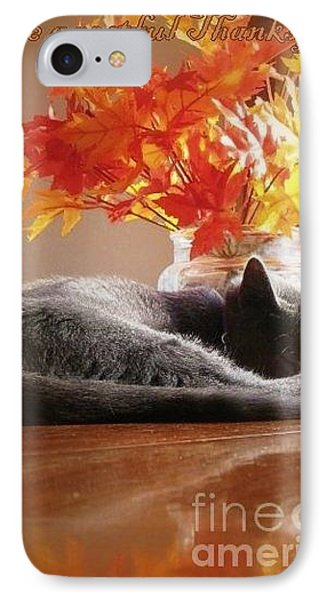 Have A Restful Thanksgiving Phone Case by Jennifer E Doll