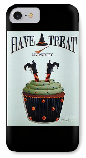 Have A Treat My Pretty Phone Case by Catherine Holman
