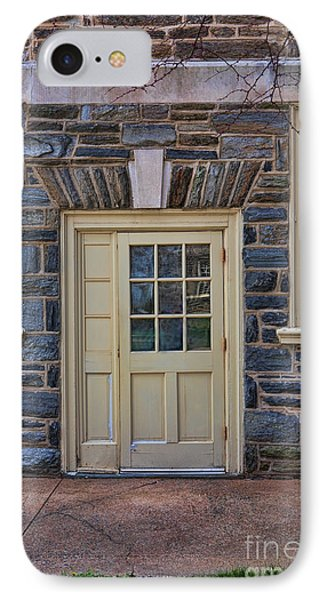 Haverford College Door IPhone Case