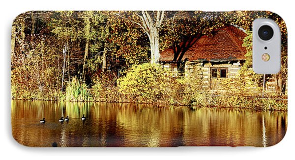 Haverford College Lake IPhone Case