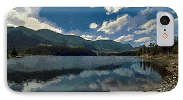 IPhone Case featuring the painting Haviland Lake by Jeff Kolker
