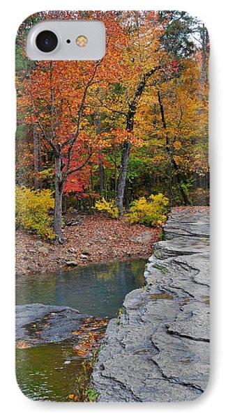 Haw Creek Fall 2 Phone Case by Marty Koch