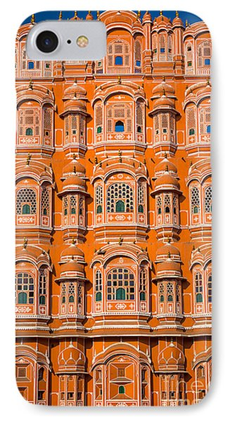 Hawa Mahal IPhone Case by Inge Johnsson