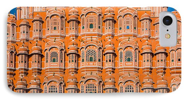 Hawa Mahal Moon IPhone Case by Inge Johnsson