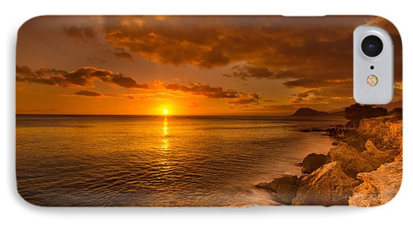 Hawaii Golden Sunset IPhone Case