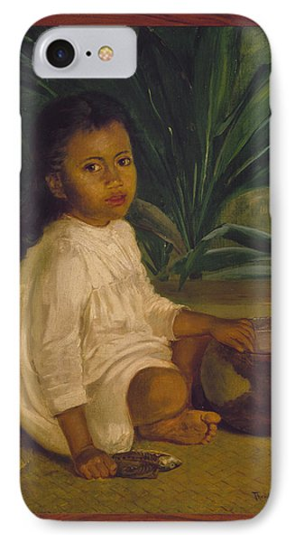Hawaiian Child, 1901 IPhone Case by Granger
