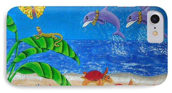Hawaiian Lei Day Phone Case by Pamela Allegretto
