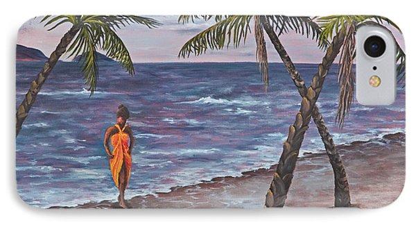 Hawaiian Maiden Phone Case by Darice Machel McGuire